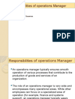 1.2 Role of operations manager