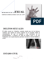 DELITO SEXUAL exposicion