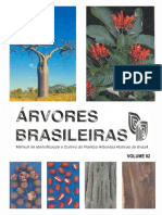 Árvores Brasileiras - Manual De Identificação E Cultivo De Plantas Arbóreas Nativas Do Brasil - Vol. 2