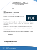 CARTA DE NOMBRAMIENTO  CORPORACION E & R.docx