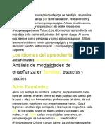 03. Fernandez Al.- Los idiomas del Aprendiente Cap I