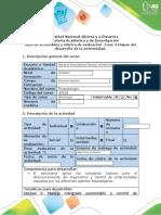 Guía de actividades y rúbrica de evaluación - Fase 4 - Etapas del desarrollo de la enfermedad