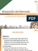 Taller de Exteriores 2010 CIM Dimensión del Mercado