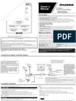 Selvania SRT2223X User Manual