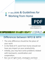 Practices & Guidelines for Working from Home.pptx