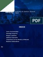 INFORME DE GESTION deceval 2019