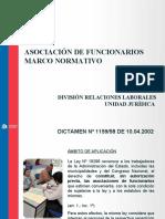 Presentación - Asociación de Funcionarios