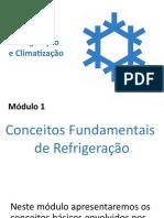 Módulo 1A - Conceitos Fundamentais de Refrigeração