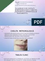 Cheilita alergică de contact, actinică și meteorologică.pptx