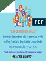GUÍAS DE APRENDIZAJE EXPRESS