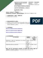 GUÍA DE TRABAJO COVID 19 - CIENCIAS NATURALES FISICA 10°