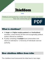 Chiefdom presentation