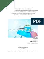 UNIDAD #3 Análisis y Especificación de Requisitos.docx