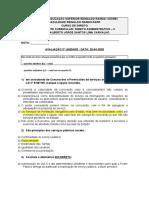 avaliaação administrativo 2