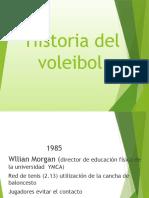 1. Historia del voleibol