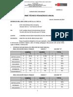 INFORME TÉCNICO PEDAGÓGICO 2019 Fernanda