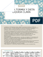 DIETA Túrmix Y DIETA LIQUIDA CLARA