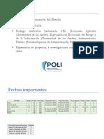 Presentación de PowerPoint organización del estado