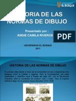 HISTORIA DE LAS NORMAS DE DIBUJO