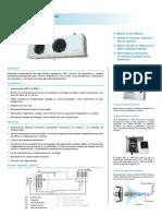 evaporador-cubico Camara Frigorifica