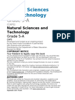 South Africa Grade 5 Natural Sciences Textbook 2020