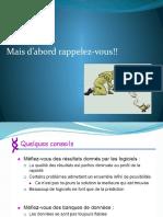 Cours 2 BioInfo
