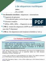 Cours 4 BioInfo