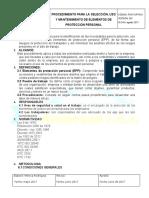 1 PROCEDIMIENTO DE EPP.doc