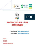 DEPANNAGE ET MAINTENANCE DES INSTALLATIONS PHOTOVOLTAIQUES - Flexy -Energy-FC-2013-11-25 [Mode de