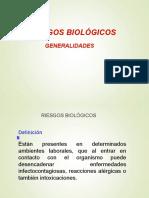 RIESGO BIOLOGICO. GENERALIDADES.ppt