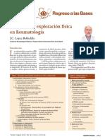 ANAMNESIS Y EXAMEN FISICO REUMATO
