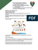 guia de  biologia de red troficas