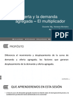 Demanda y Oferta Agregada - Multiplicador Sesión 7 - Semana 4