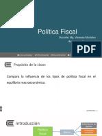Política Fiscal- Sesión 10 -Semana 5