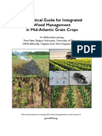 A Practical Guide for Integrated Weed Management  in Mid-Atlantic Grain Crops
