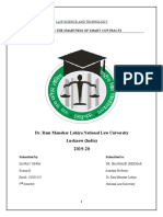 LAW SCIENCE AND TECHNOLOGY
