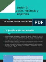 SESION 3 - PROYECTO DE INVESTIGACION