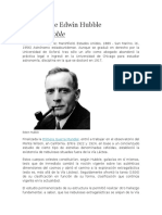 Biografía de Edwin Hubble