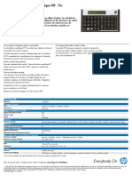 Calculatrice HP 15C