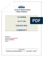 Assignment 2 Section 2 Fall 2015- 2016