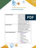 Paso 2_ Identificar un medio regional - local - Ficha técnica