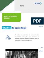presentación_Nueva resolucion 0491 del 2020 - Espacios confinados