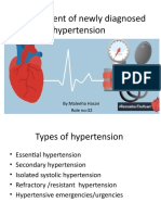 Management of newly diagnosed hypertension.pptx