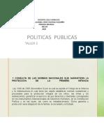 POLITICA PUBLICA  DEISSY
