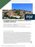 Estratégias das favelas e periferias do Brasil no combate à COVID-19 _ Combate Racismo Ambiental