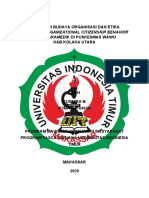 BUDAYA ORGANISASI-P2MK190104028-KUSMIRA-B