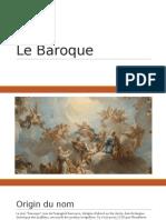Le baroque  littérature francaise