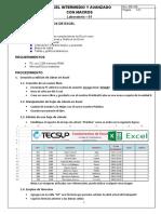 Laboratorio 01 - Fundamentos de Excel