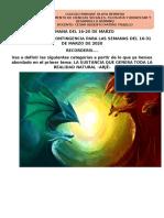TRABAJO FILOSOFÍA 10° GRADO PARA SEMANA DEL 16-28 DE MARZO