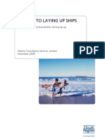 Lloyd's Register a Guide to Laing Up Ships